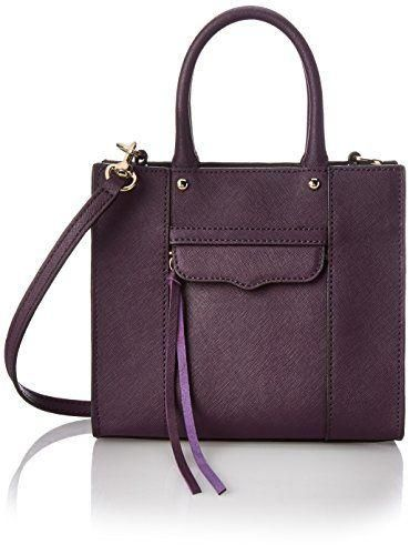 This mini tote comes in a pleasing plum hue.  7334d98ac88c4