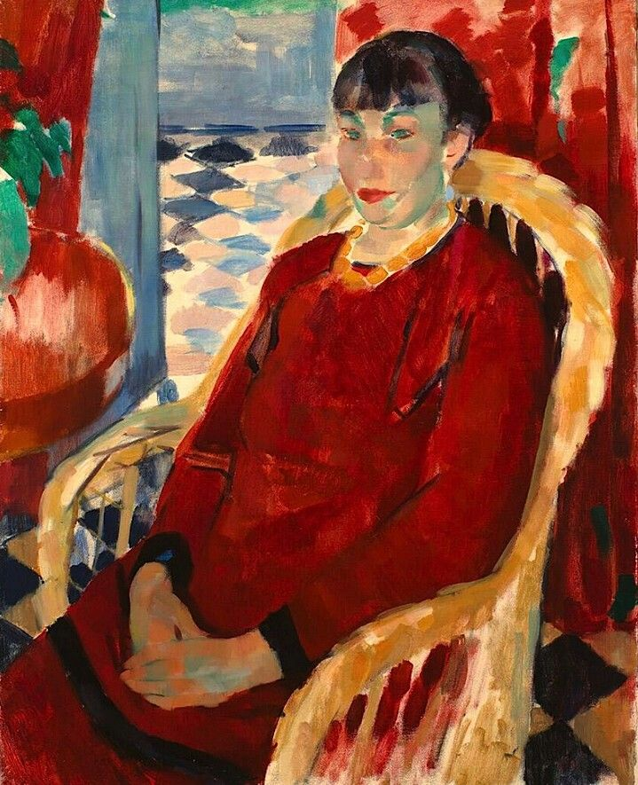 Rik Wouters The Lady in Red 1912