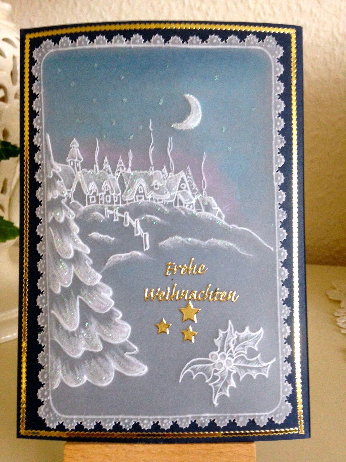 Luises Pergamentkunst und Malereien