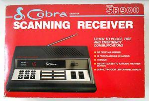 Cobra SR900 16 Channel Scanning Receiver Fire EMT Police