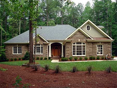 Superior Plan 2067GA: Classic Brick Ranch Home Plan