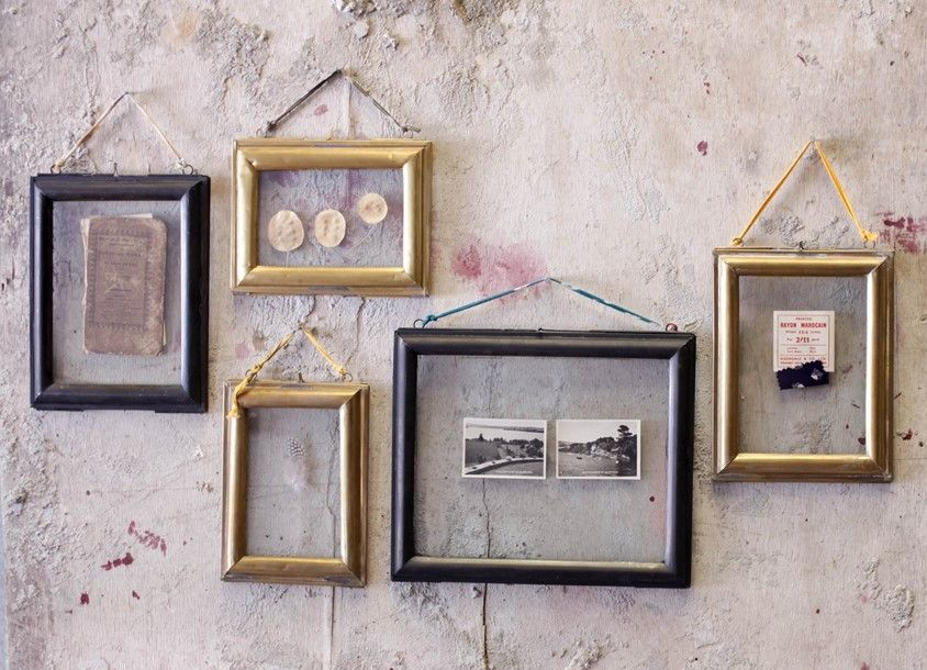 Kariba Antique Black Frame Wall Hanging Photo Frames Glass Photo Frames Antique Brass Frame