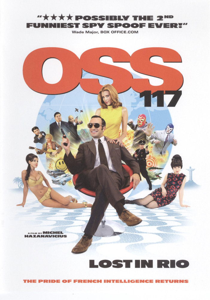 Best Buy Oss 117 Lost In Rio Dvd 2009 In 2020 Cool Things To Buy Rio Dvd