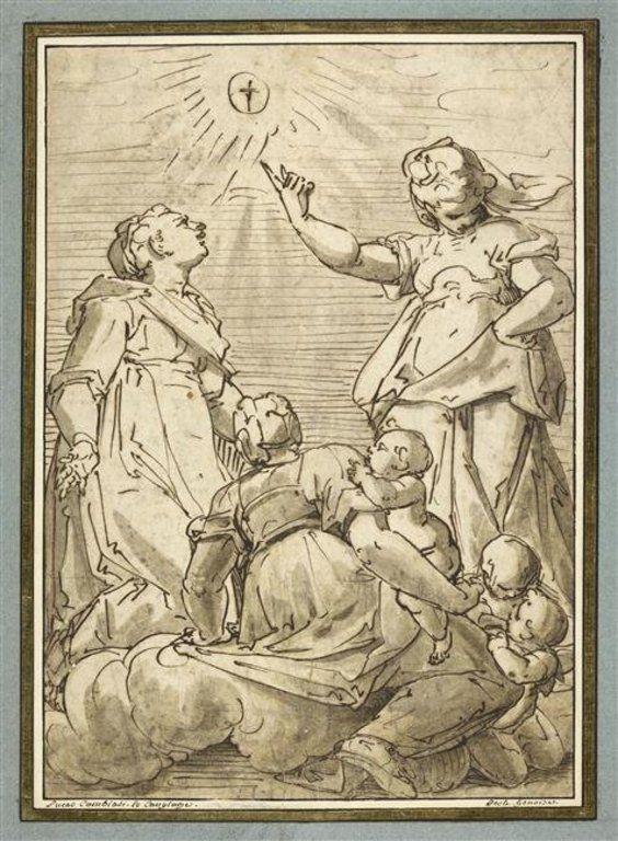 La Foi, l'Espérance et la Charité - CAMBIASO Luca