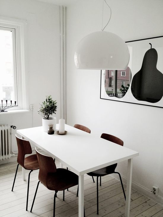 40 Cool Scandinavian Dining Room Designs | DigsDigs | DININGROOM ...