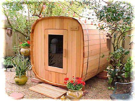 Charmant Worlds Finest Backyard Garden Sauna