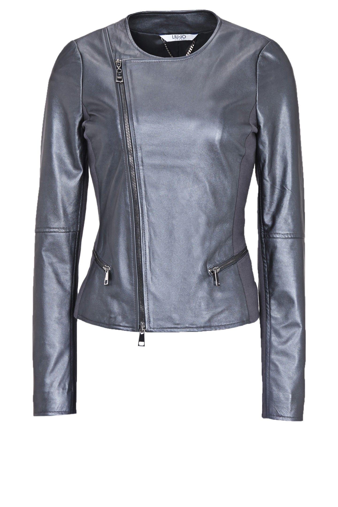 La giacca di pelle corta e sciancrata abbinabile a pantaloni e abitini - Short and fitted Leather jacket matching pants and dresses #VirgoImage