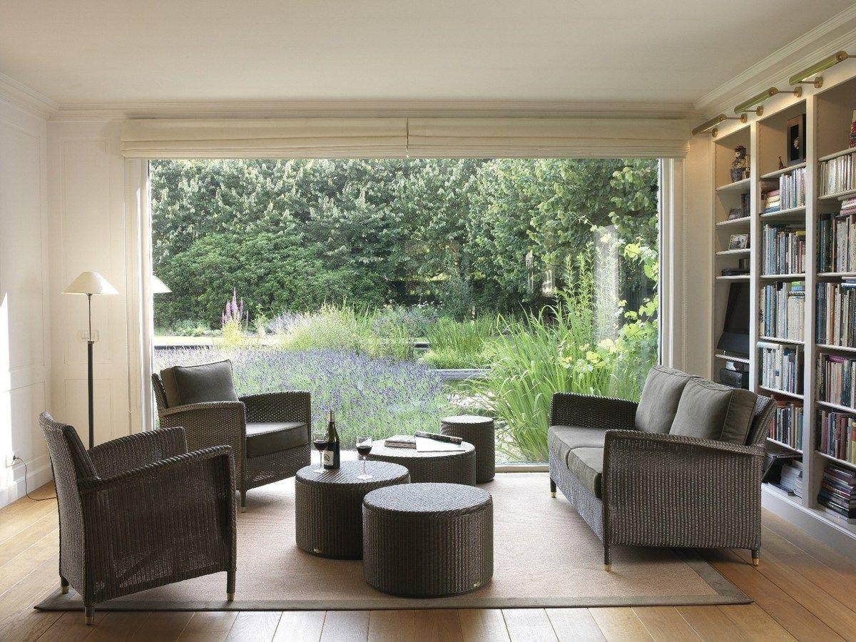 meubles de veranda salon rotin