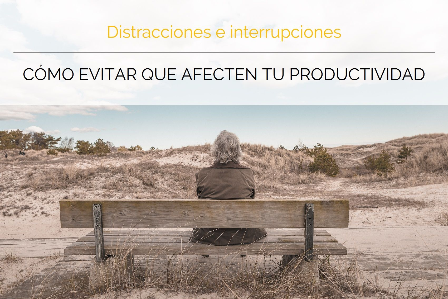 Pequeños gestos que evitarán que distracciones e interrupciones pongan en jaque tu productividad