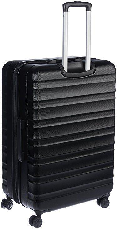 d6d748b6741f Amazon.com: AmazonBasics Hardside Spinner Luggage - 28-inch, Black ...