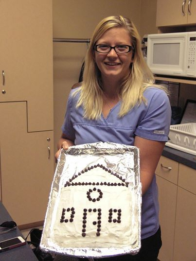 Congrats to Kaitlyn and her boyfriend Rob on FINALLY closing on their first house together. We wish them much happiness!