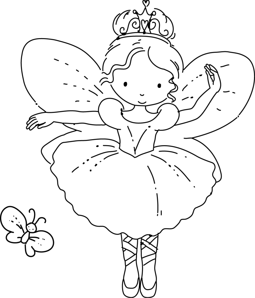 Adult Fairy Coloring Pages Babies Categories Cartoon Coloring