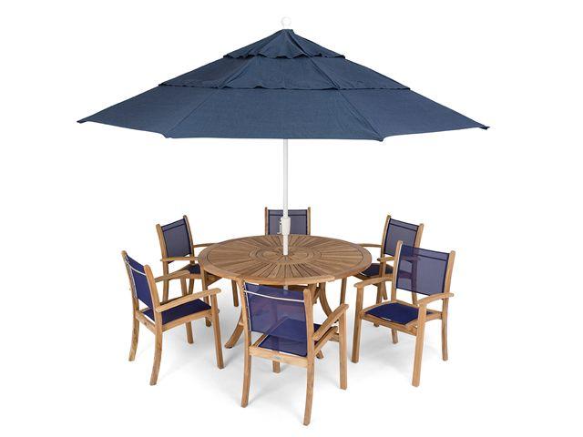 Westport 5 Pc. Sling Dining Set   Fortunoff Backyard Store ...
