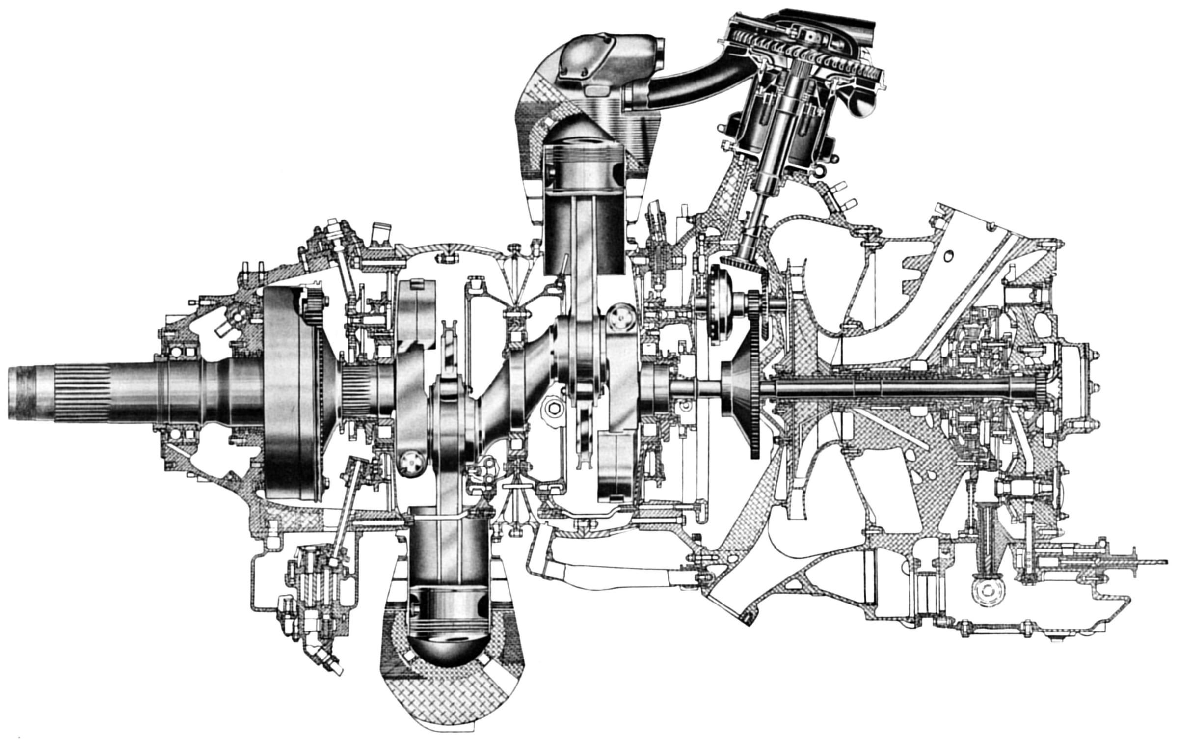 Rotary Aircraft Engine