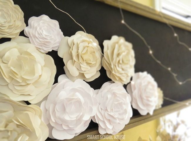 The 11 best paper flower making tutorials paper craft pinterest from peonies to roses tap into your crafty side with one of these 11 best paper flower making tutorials mightylinksfo