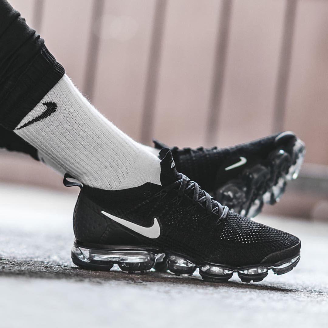 e0272a7eac Nike Air Vapormax 2: Black/Metallic Silver | Kicks in 2019 ...
