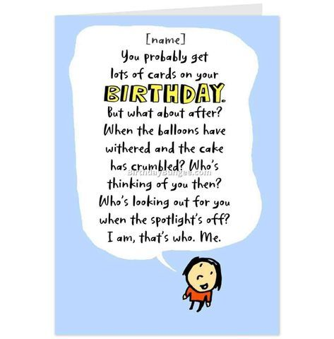 Say Goodbye To Boring Birthday Wish Because Hallmark Has Personality Card Funny Happy Images And Amcordesign Us