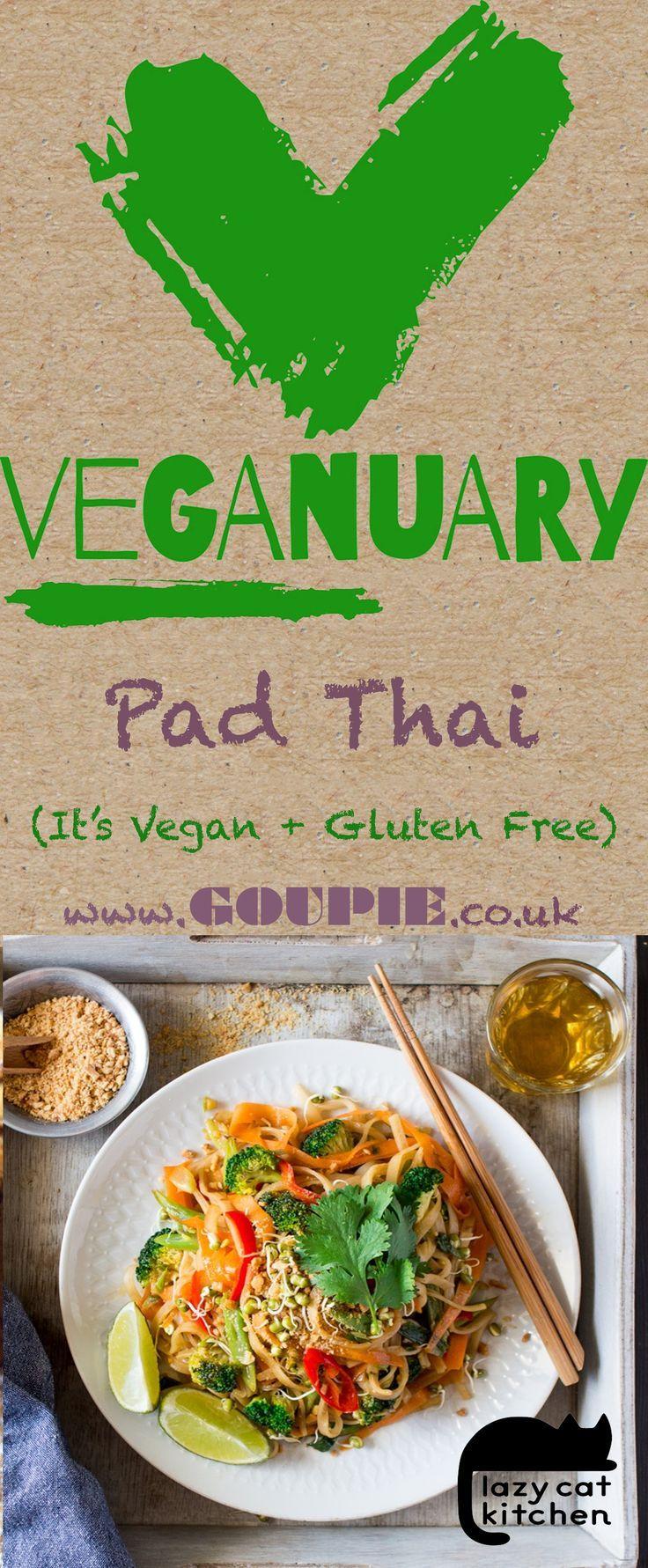 Vegan pad thai – Lazy Cat Kitchen