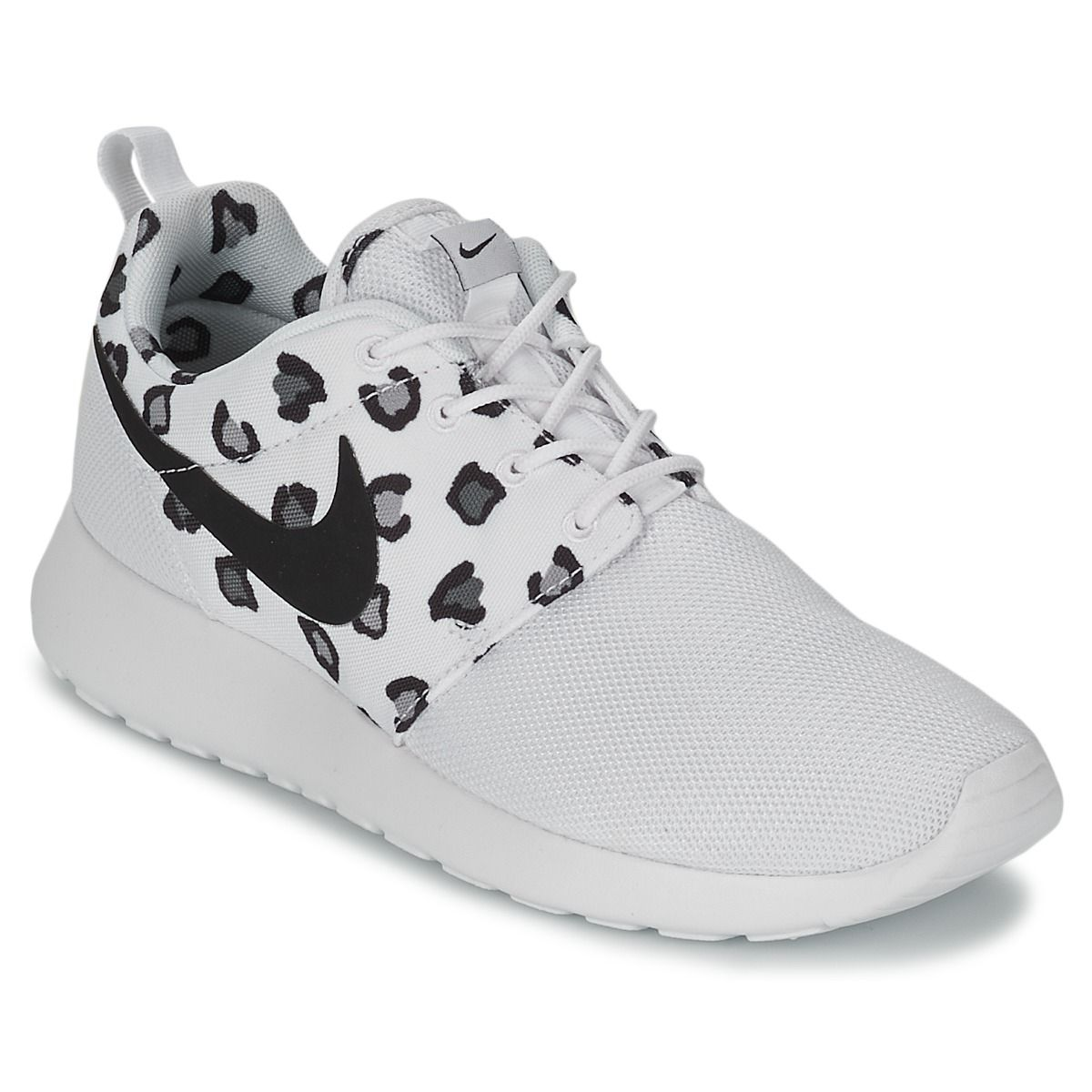 Baskets basses Nike ROSHE RUN Blanc   promo Noir prix promo  Baskets Femme 4be092