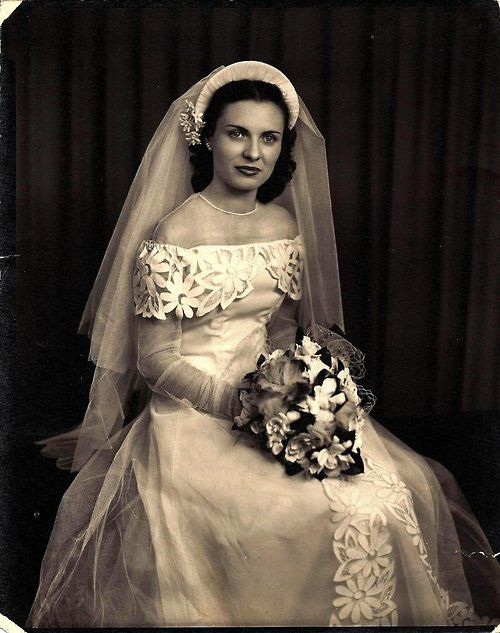 1940 vintagebride | Antique Wedding Photo / Alte Hochteitz Photos ...