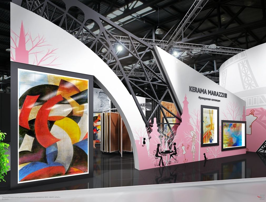 Exhibition stand stand idees exposition deco et scenographie for Stand expo deco