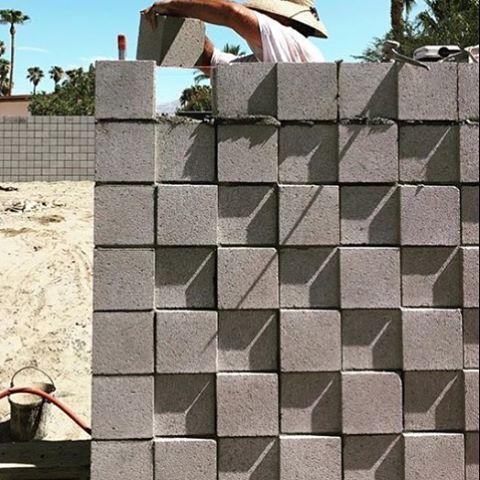 Image Result For Cmu Screen Wall Concrete Block Walls Exterior Stone Brick Architecture