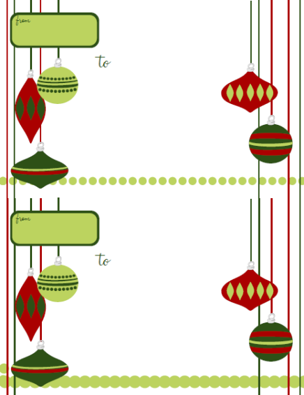 Holiday Labels  Holiday Label Templates Free Printable