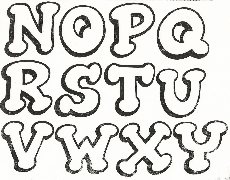 moldes de letras para imprimir - Buscar con Google | foami ...