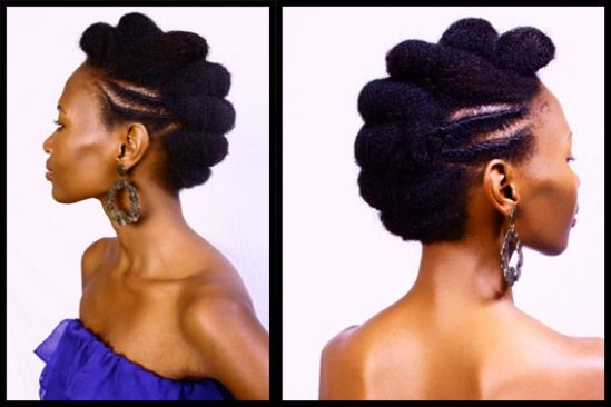 Au Naturale by Mz. Sixx: Roll N Tuck *Natural Up-Do Hair Style*