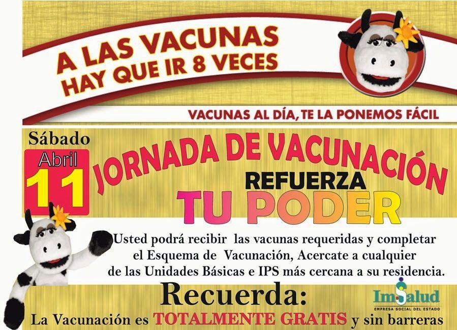 Noticias de Cúcuta: VACUNACIÓN DE LAS AMÉRCIAS EN TODAS LAS IPS Y UNID...