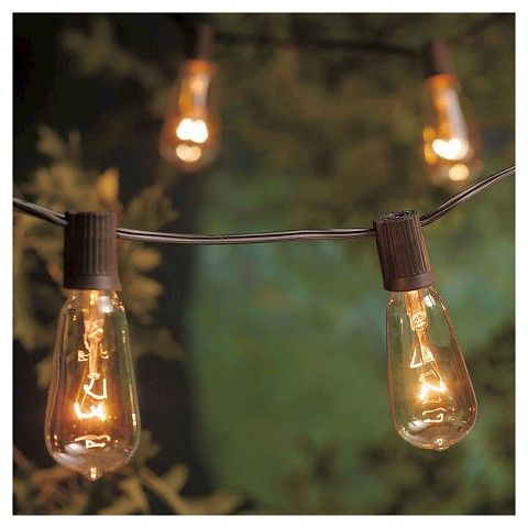 10lt Filament Bulb String Lights Smith Hawken 25 Target