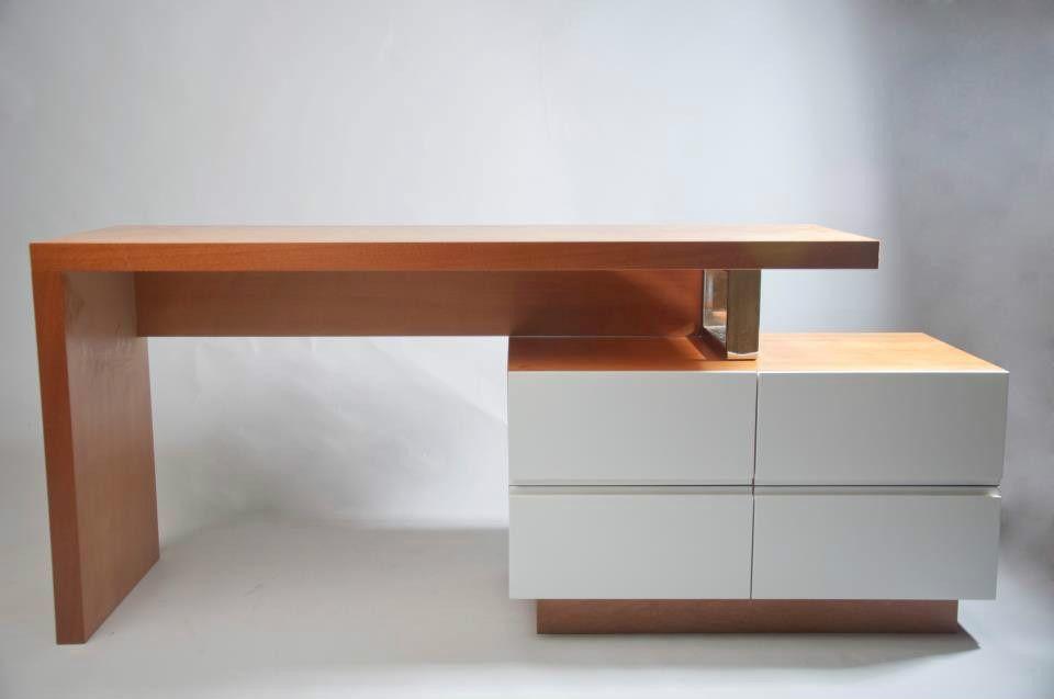 Escritorio moderno de madera mesa para computadora 7304 for Escritorios de hogar