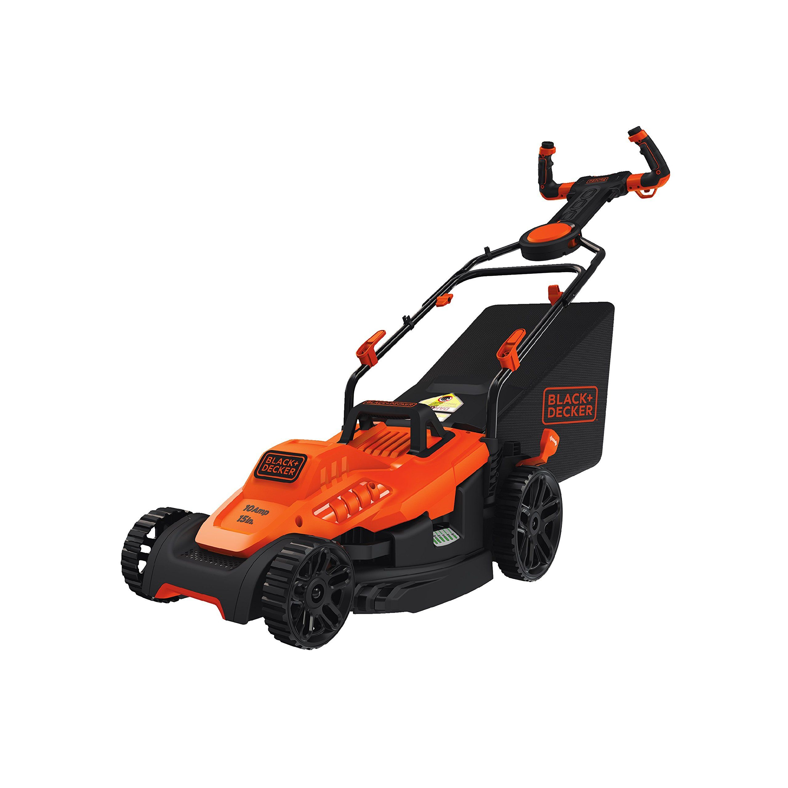 Black Decker Bemw472es Electric Mower 15 Lawn Pivot Control Handle Click Image For More Details It Is An In 2020 Best Lawn Mower Cordless Lawn Mower Electric Mower
