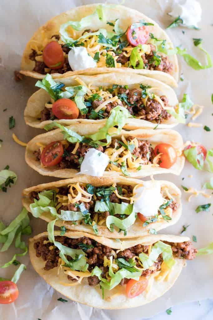 Best Ground Beef Taco Meat Recette Cuisine Mexicaine Plat