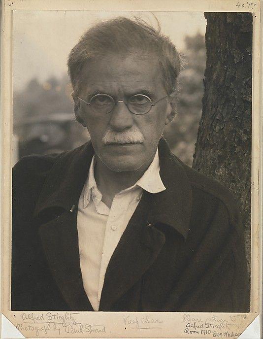 Alfred Stieglitz by Strand