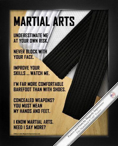 Martial Arts 8x10 Sport Poster Print Martial, Martial