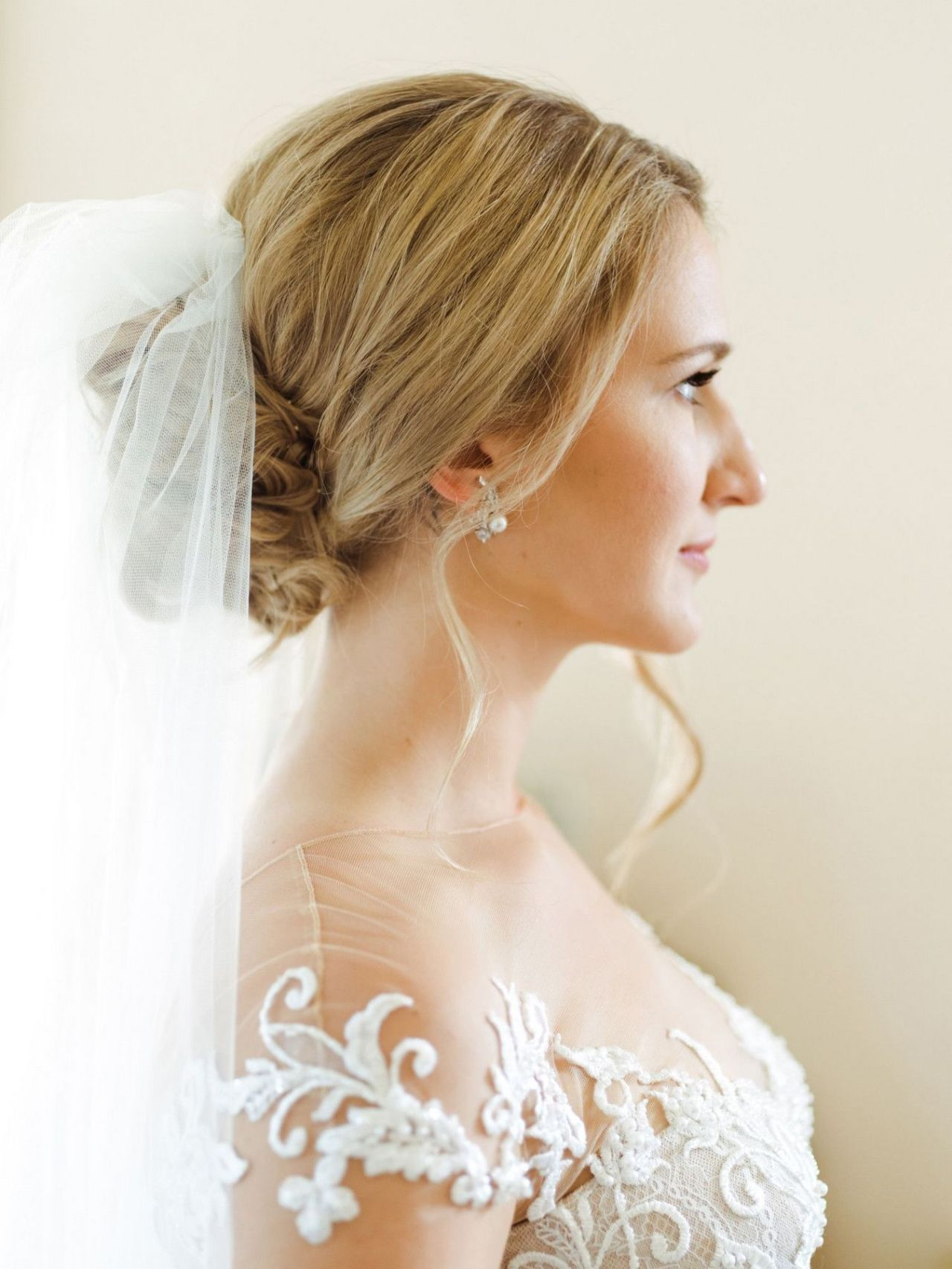 The Ultimate Handbook To Loose Updo Wedding Low With Veil
