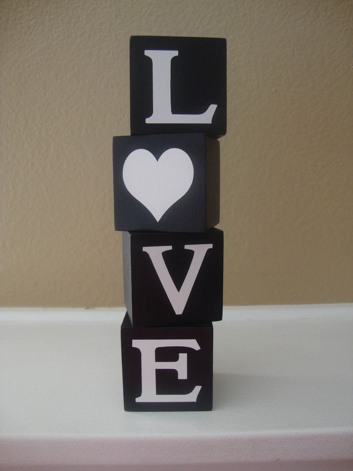 Love Wooden Letter Blocks For Home Decor And Decorating Valentines Day Wood