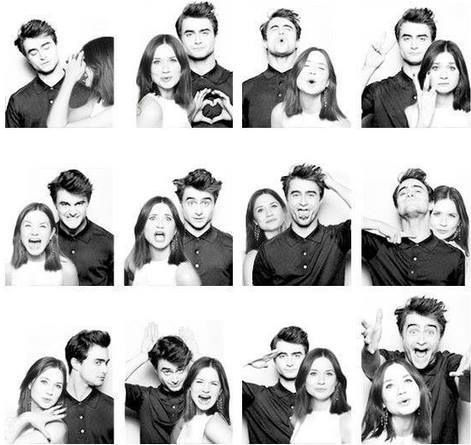 I could see Harry and Ginny doing this too ;)