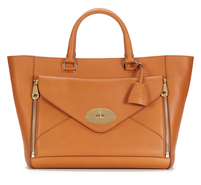 MULBERRY Willow 2-in-1 Silky Classic Calf Leather Large Tote - was $2700.0, now $1979.0 (27% Off) @ Gilt