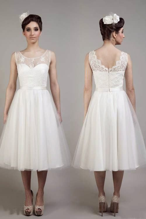 2015 Cheap Short Wedding Dresses By Tobi Hannah Inspirasi