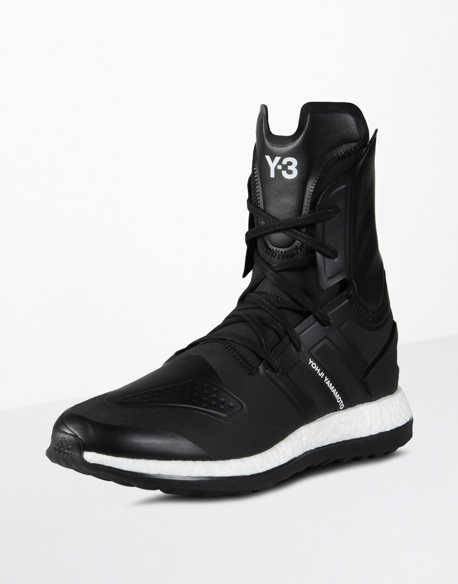 4a62a2a86b43 Y-3 PUREBOOST ZG HIGH SHOES man Y-3 adidas