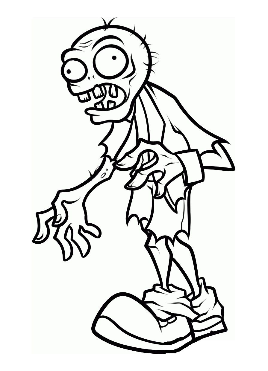 Pin by 11LoRie on Plants vs Zombies  Zombie drawings, Halloween