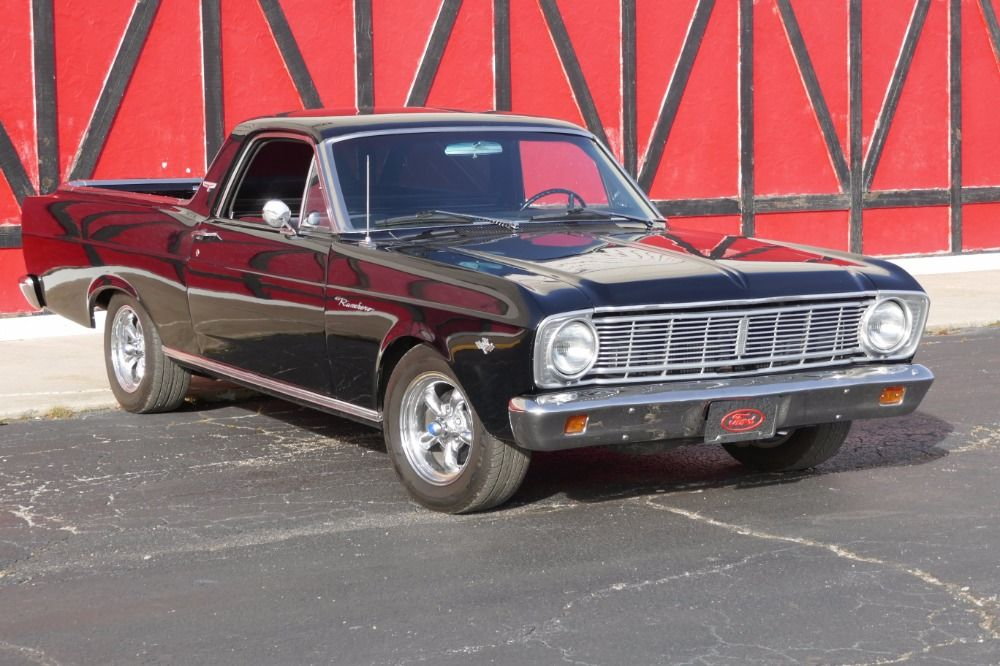 Used 1966 Ford Ranchero -BLACK ON BLACK- 302 V8/4 -SPEED - SEE VIDEO ...