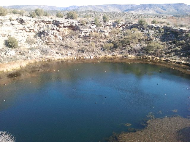 Montezuma's Well... one of this lifetime's Sacred Places for me.