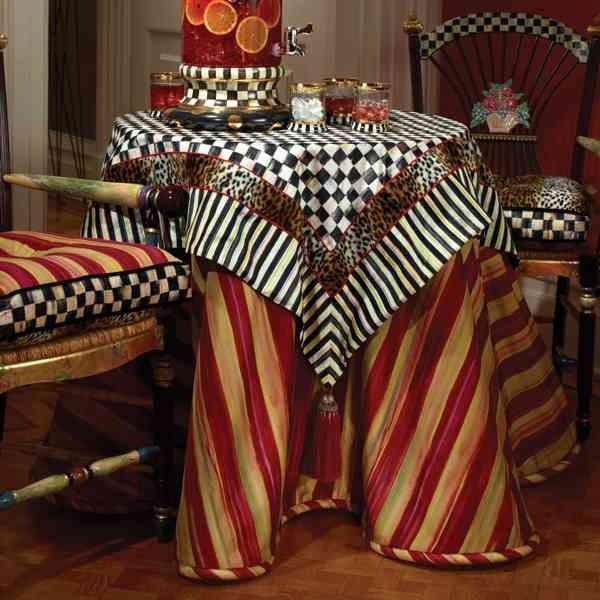 This heirloom striped underskirt is named for heirloom - Oh cielos muebles ...