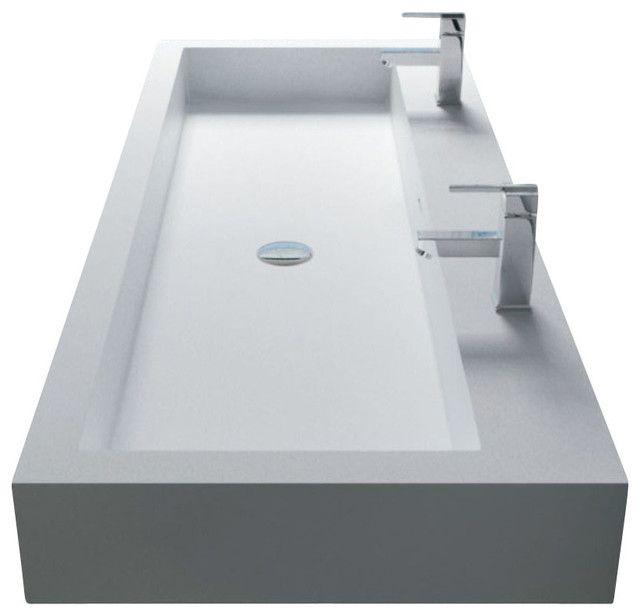 ... salle-de-bain.com/materiaux-vasques/vasque-en-resine/  salle de bain