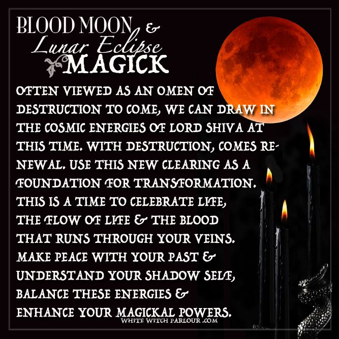 blood moon spiritual meaning wicca - photo #1