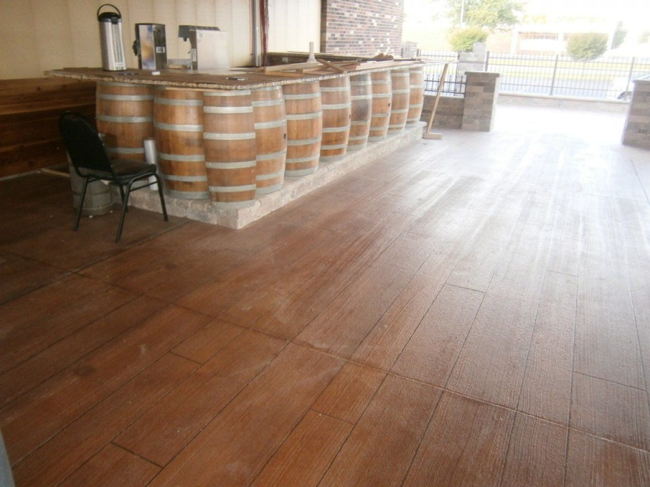 Concrete Wood is great for residential and commercial