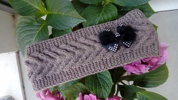 headband women/wool headband/winter bonnet/runlet/wool headband women/wool knit headbands ,warm headband,handmade in France #bandeaulaine